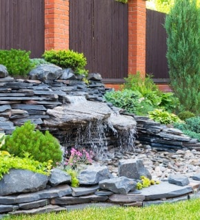 Water Feature Installation in Greeley Colorado